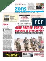 Journal Horizons Du 03-10-2018