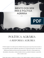 Movimento dos sem terra e Política Agrária.pptx.pdf