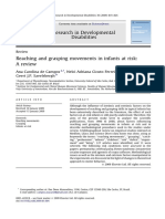 Reaching  and  grasping  movements  in  infants  at  risk:A  review
