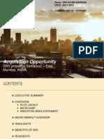 Project report on a Slum Rehabilitation Scheme