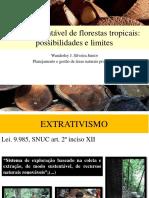 O Uso Sustentável de Florestas Tropicais_possibilidades e Limites Na Amazônia