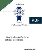 Historia y Evolucion Del Vino LCB