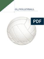 trabajo voleibol-volleyball