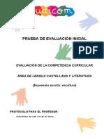 04Udicom Prueba de Evaluación Inicial Lengua Castellana y Literatura (Expresión Escrita-Escritura).pdf