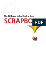 differentiated instruction scrapbook