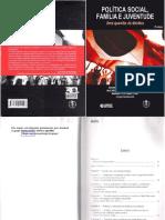 Livro Politica Social Familia e Juventurde