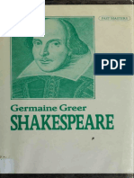 Shakespeare by Germaine Greer