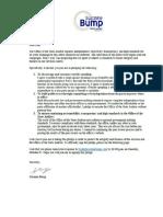 Pledge Letter