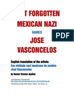 That Forgotten Mexican Nazi Named Jose Vasconcelos