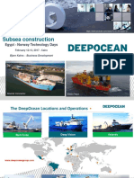 DeepOcean Egypt Norway technology days