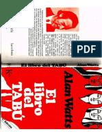 Alan Watts E lLibro Del Tabu.pdf