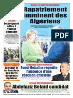 Journal Le Soir Dalgerie 30.09.2018