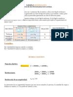 Ejemplo de Minimización Modelo Estandar