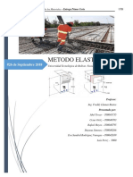 Concreto - método elástico