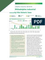 Q3 2018 Philadelphia Metro Industrial MarketView