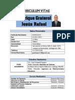 Curriculum Ing. Jesús Pedrique