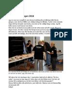 Rapport 2018-09-02 Utställningen