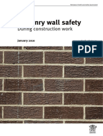 AU Masonry Wall Safety