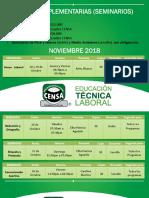 Guias Complementarias (Seminarios) Noviembre