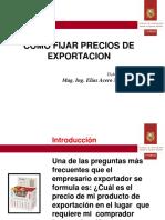 Precios Exportación