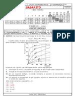 Gabarito Ae3 Química 2º Ano
