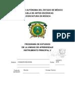 LMU5P6 2014 Programa Instrumento Principal v-Taller