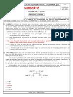 Gabarito Ae2 Biologia 3º Ano