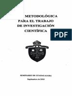 Guía Metodológica. para el trabajo de investigaciónpdf