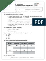 Examen Bimestral 2do Quimica