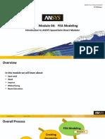 SCDM-Intro 17.0 Module04 FEA Modeling