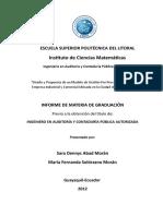 Informe de Materia de Graduacion.doc