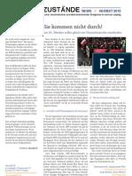 Leipziger Zustände // Herbst 2010