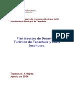 Plan Maestro Tapachula 2006