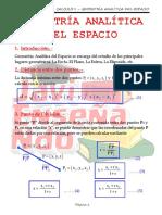 Geometria Analitica del Espacio - 2 Tema.pdf
