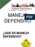 4.1 Manejo Defensivo
