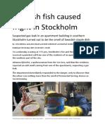 Swedish Herring - Two Articles