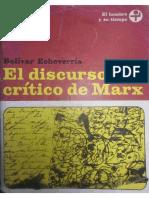 El Discurso de Marx