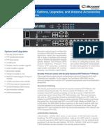 Microsemi Syncserver S600 S650 Options Datasheet RevE
