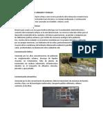 Problemas Ambientales Urbanos y Rurales