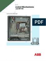 Motor Ope. Mech. Type Mt 50-100-17!03!08 - PDF Free Download