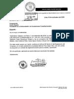 Informe-Comisión Pacori. Denuncia constitucional (Hinostroza, Noguera, Gutiérrez, Velásquez, Aguila)