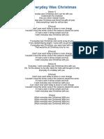 Cancion de Ingles