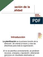 PLANIFICACION de la Calidad. CC II.pptx