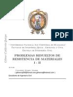 Ejercicios de Resueltos por método de tres momentos (Resistencia de Materiales) .pdf