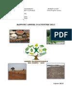 Rapport Annuel Activites 2011 MEDD