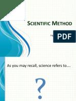 1.2 Scientific Method
