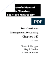 Download Solution Manual for Introduction to Management Accounting Chs 1-17-15th Edition Horngren Fm13