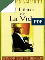 El Libro de La Vida Jiddu Krishnamurti