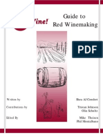 Guide to Red Wine Making