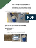 PESO VOLUMÉTRICO SUELTO DEL AGREGADO NTP 400.docx